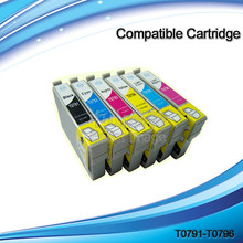 INK WAY T0791-T0796 compatible printer ink cartridges for Epson Artisan 1430 Inkjet Printer(China)