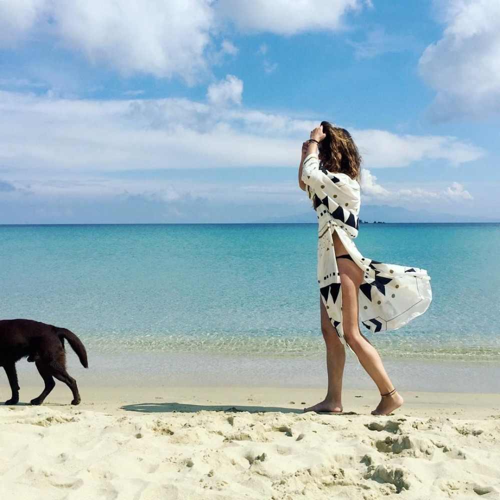 Coperture-Up Delle Donne Sexy Beach Cover up Del Ricamo Costume Da Bagno Costumi Da Bagno Delle Signore Tuniche Caftano Spiaggia Vestito di Usura Della Spiaggia Delle Donne Robe de Plag