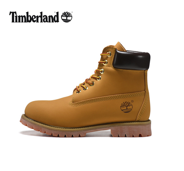TIMBERLAND Men Classic 10061 Wheat Spring Yellow Ankle Boots,Man Male  Leather Outdoor Casual Shoes Oversea Simple Version 40-45 0cdf270c405