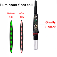 Smart Gravity Sensor Fishing Float With a Chip Change color When Bite Led Luminous Floats Night Light Buoys