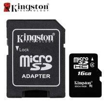 Kingston класса 4, 8 GB 16 ГБ Micro SD карты памяти MicroSD картао де memoria tarjeta Micro SD карт TF карта с адаптером