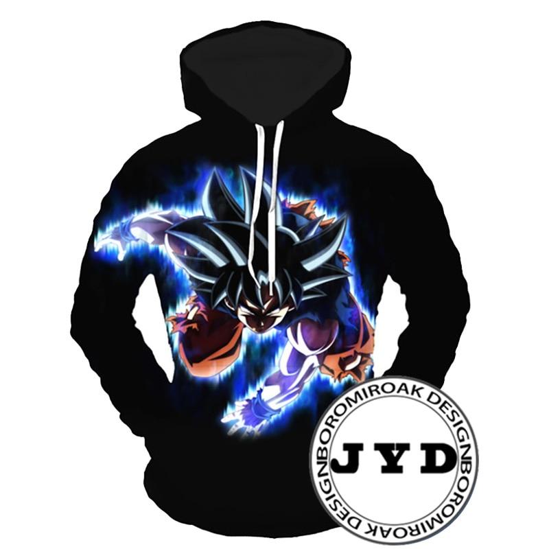 Dragon Ball Hoodies 3D Hoodie Sweatshirts Men jackets Z Anime Fashion Casual Tracksuits Hooded Pullover Streetwear