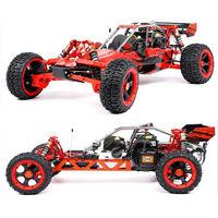 ROFUN Rovan 1/5 Gas Baja 5B 2WD 360AG 36CC Easy Start Engine Nylon Front Rear A Arm Suspension RC Truck