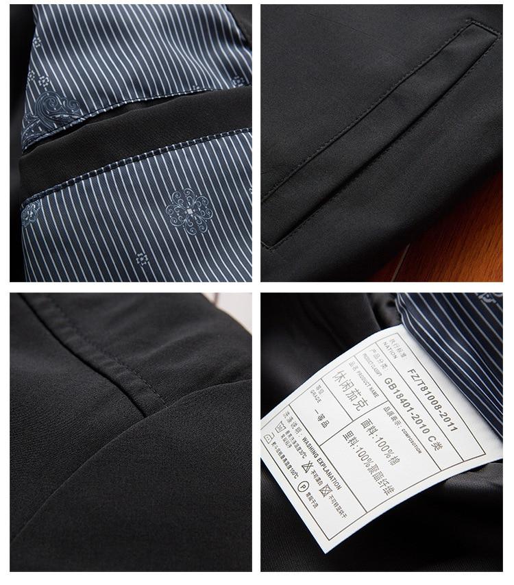 Men's Bomber Zipper Casual Streetwear Hip Hop Slim Fit Pilot Coat Men 41