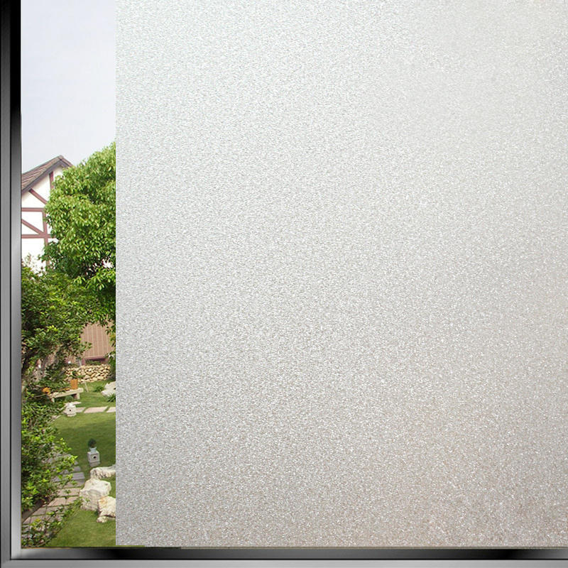 PVC Frosted Window Film Waterproof Self Adhesive Glass Sticker Home Bedroom  Bathroom Office Privacy Scrubs