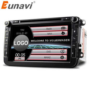 Eunavi 2Din 8'' Car DVD Radio Player GPS Navigation For VW Passat CC Polo GOLF 5 6 Touran EOS T5 Sharan Jetta Tiguan Free camera - DISCOUNT ITEM  22% OFF All Category