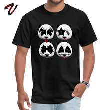 лучшая цена panda kiss Crazy Labor Day Michael Jackson Crew Neck Men Tops Shirts Indonesia Tops T Shirt Graphic Short Sleeve T Shirts