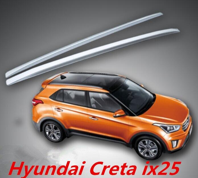 NOUVEAU ABS Voiture Toit Porte-bagages barre Pour 14-18 Hyundai Creta ix25 2014 2015 2016 2017 2018 PAR EMS
