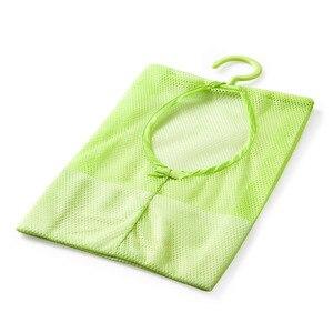 Image 4 - Màu Sắc Đa Năng Treo Lưu Trữ Đựng Đồ Giặt Nhiều Màu Lưới Bảo Quản Quần Áo Lồng Đồ Chơi Túi Bảo Quản Đồ Gia Dụng