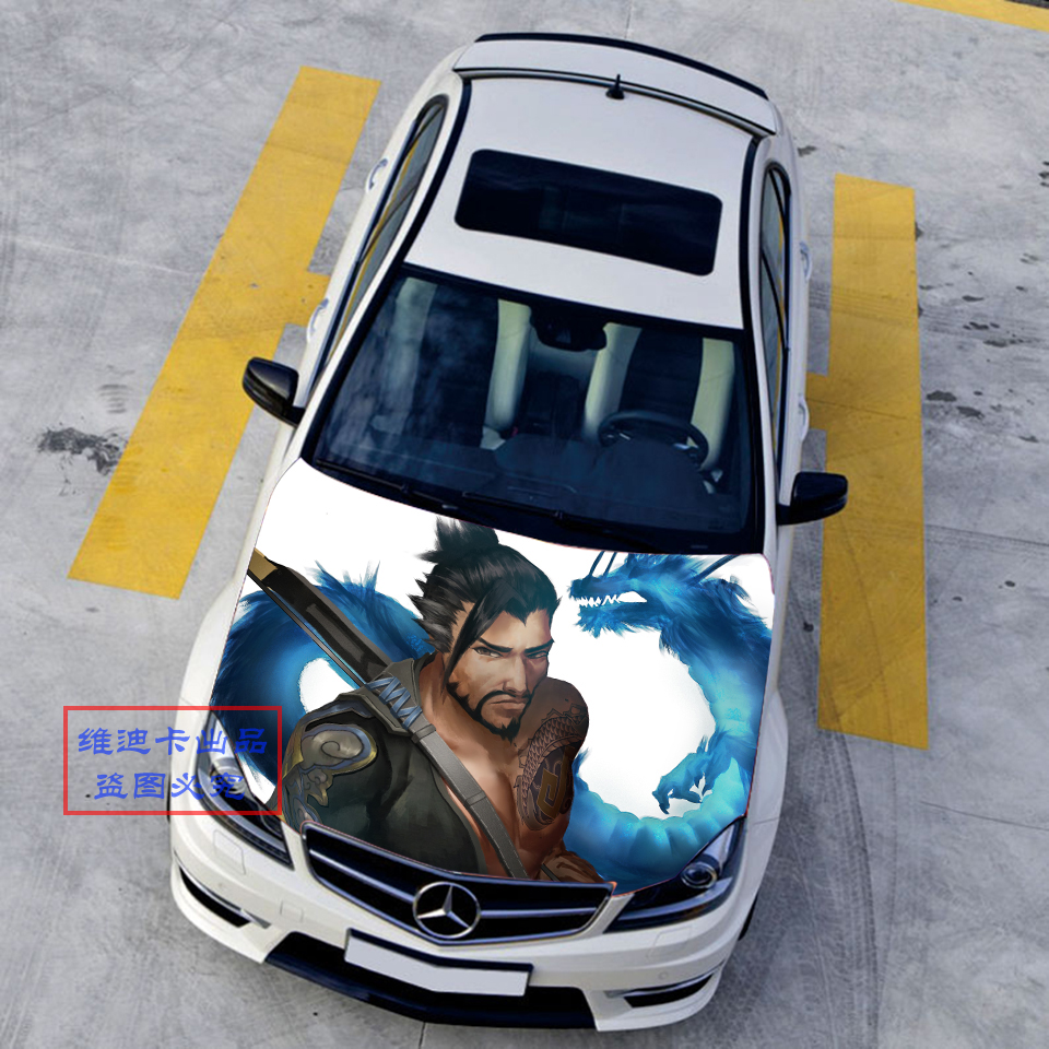 Custom Made Car Accessories Japanese Car Stickers Decals 3d Anime