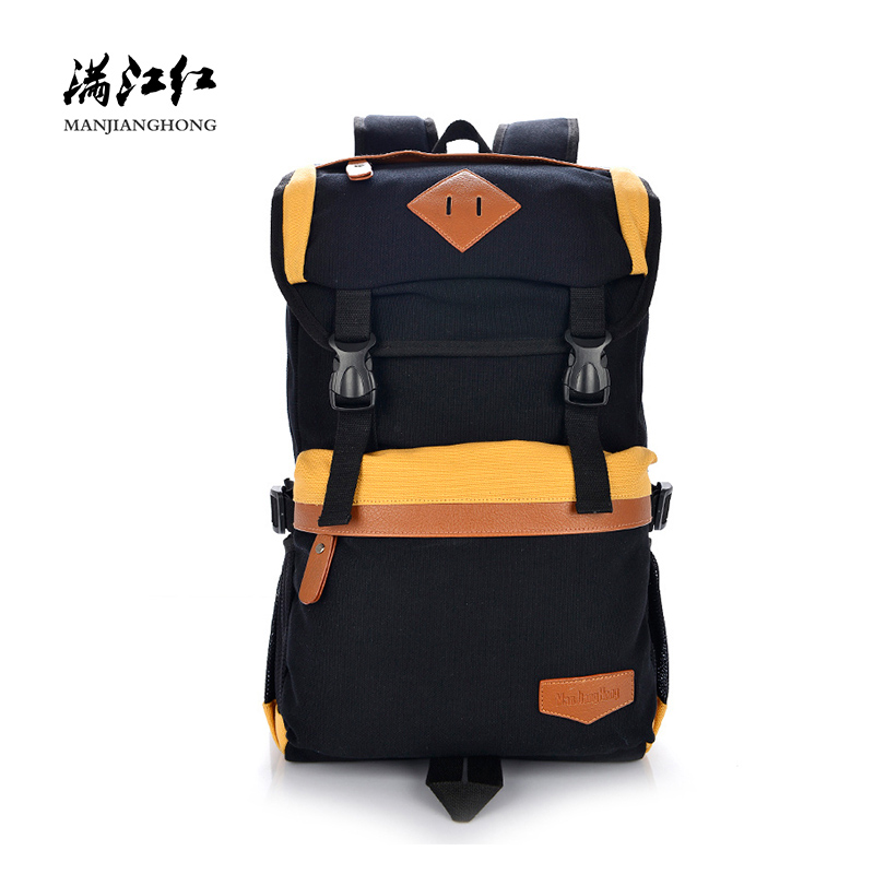 Large Capacity Casual Men Women Canvas Backpack Travel School Bags For Teenager Girls Boys Patchwork Laptop Backpack 15 Inch balang brand school backpack for teenagers boys girls large capacity travel backpack for men 15 6 inch laptop waterproof bags