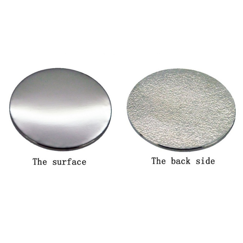 Blank Iron Golf Ball Mark For Laser Or Printing Golf Markers