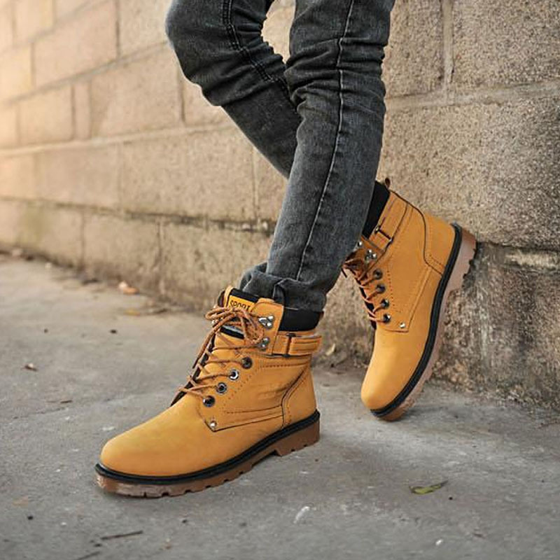 Aliexpress.com : Buy Fashion winter boots men shoes ankle boot ...