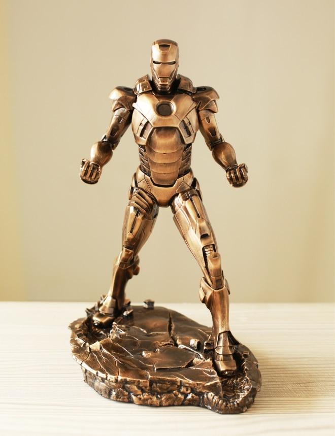 1pc Iron Man 1/5 1:5 MARK VII MK7 31CM Imitation Ferrum Or Copper Resin Bust Model MK7 Decoration Statue женские часы adriatica a3464 1113q