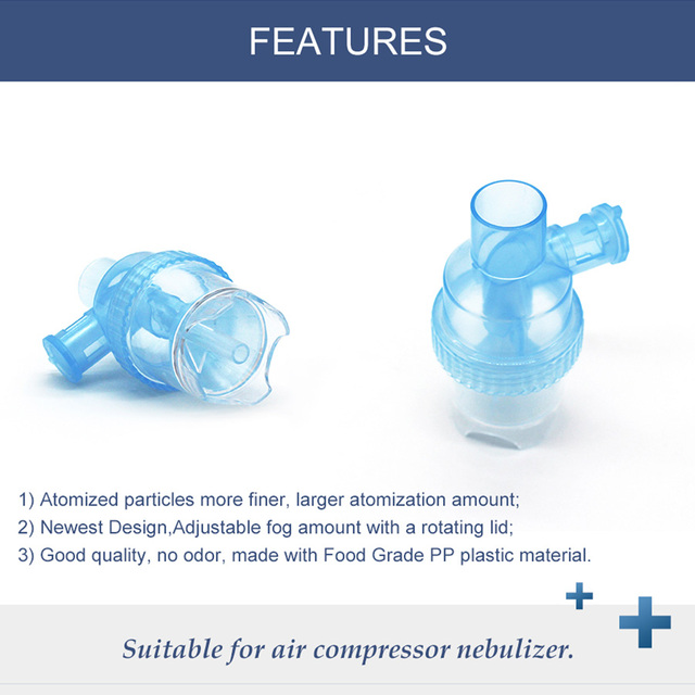 6ml Inhale Cup Aerosol Part Atomizing Spray Medicine Tank Compressed Nebulizer Accessories Household For Neonate Child Adult 4