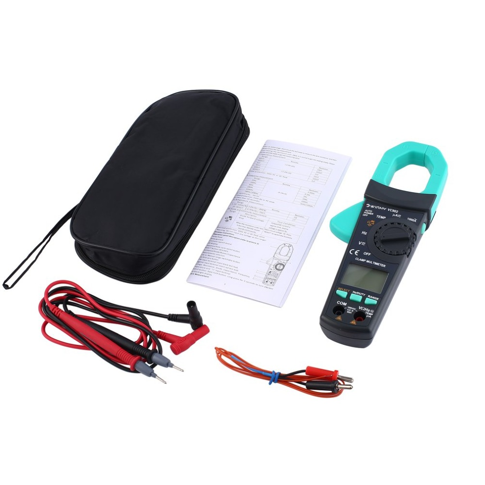 Whdz Dt83b Digital Multimeter Tester Mini Voltmeter Ammeter Current Circuit Multi Clamp Meter Vc902 Dc Ac Volt Amp Ohm Diode Multitester
