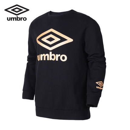 все цены на UMBRO 2018 Autumn Special Goods Male Round Neck Jacket Pullover Unlined Garment Motion Sweater Men Sweatshirt UI183AP2461