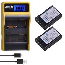 1800 мАч EN-EL9 EN EL9 ENEL9 аккумуляторная батарея + ЖК-USB одно зарядное устройство для камеры Nikon D40 D40X D60 D3000 D5000