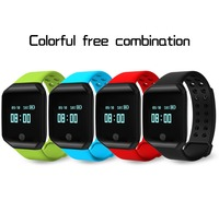 Z66 0.95 OLED Outdoor Sport Bluetooth Smart Bracelet Watch Step Heart Rate Blood Pressure Android IOS xiao mi2 band3 Wristband