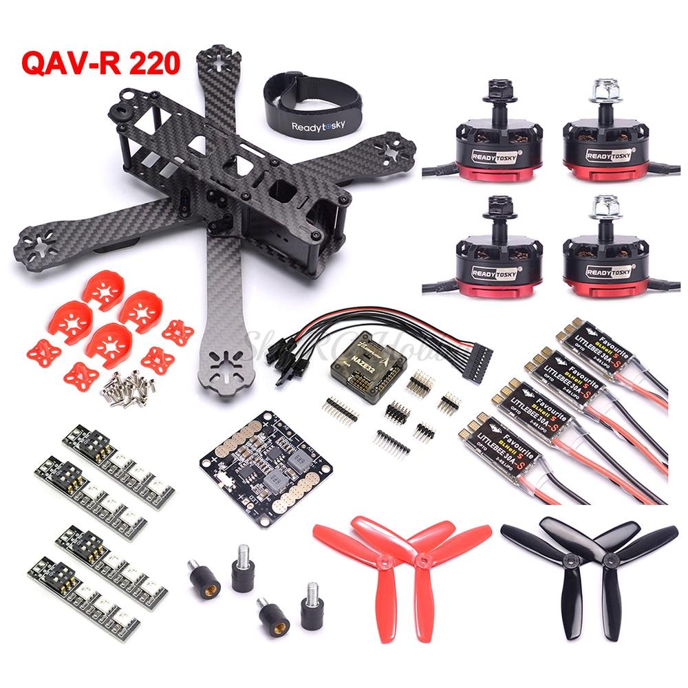 Für ZMR250 QAV-R Mini CC3D Evo Flight Controller Board mit Stoßdämpfer Platte