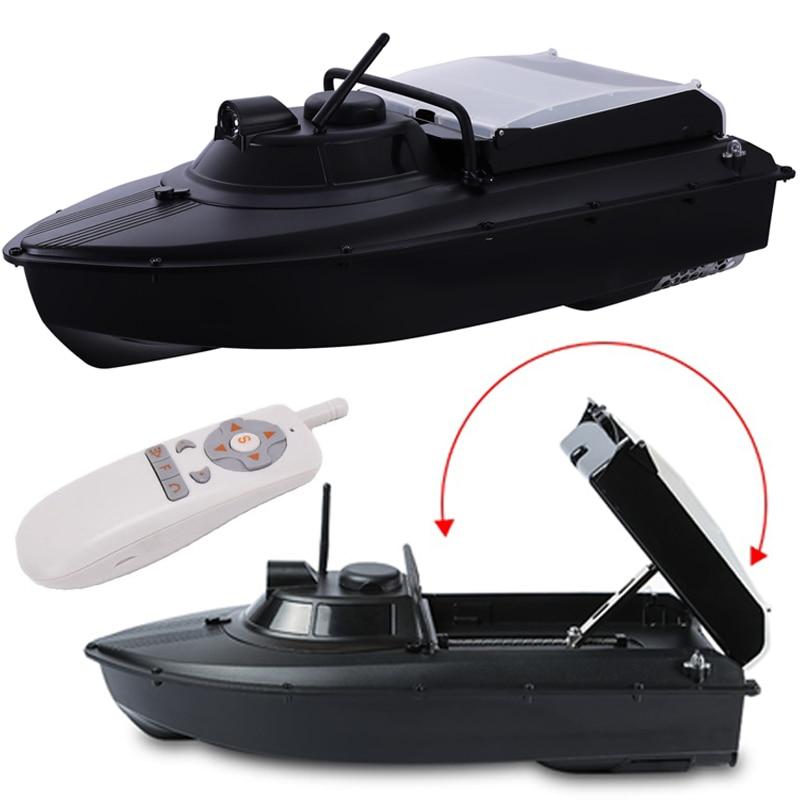 Moins cher JABO 2AD 20A 10A GPS pilote automatique appâts de pêche bateau GPS Auto Navigation RC appât bateau détecteur de poisson couvercle de lame en métal