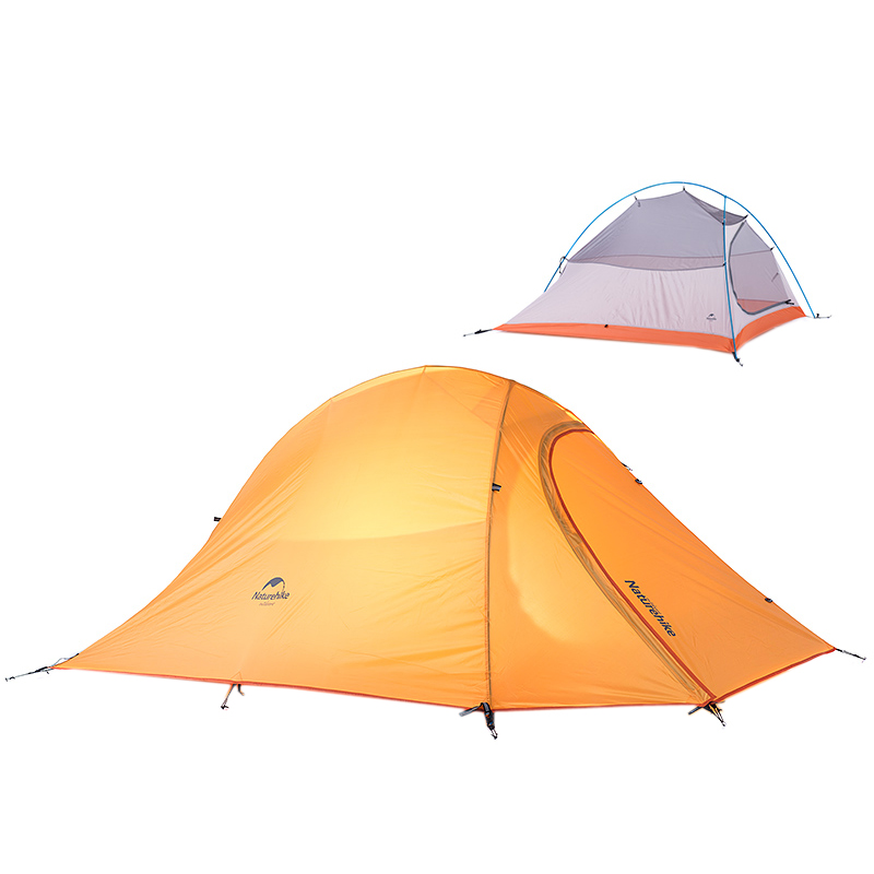 Naturehike 2 Persons C&ing Tent Waterproof Ultralight Tents Lightweight Double Layer 2 Man Tent Free Footprint NH15T002 T20D-in Tents from Sports ...  sc 1 st  AliExpress.com & Naturehike 2 Persons Camping Tent Waterproof Ultralight Tents ...