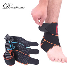 Breathable Ankle Protectors Sports Anti-Slip Ankle Strap Supports Brace Football Basketball Cycling Adjustable Foot Guard