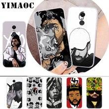 цена на YIMAOC Hip Hop Rapper Dope Print Rubber Soft Case for Xiaomi Redmi 4A Note 7 4X 5 Plus 5A Prime 6 Pro 6A S2 Go
