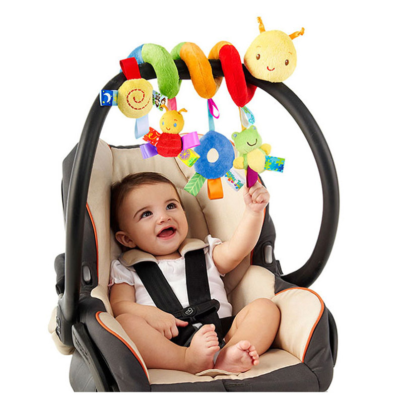 schnappy Newborn Crib Bed Stroller Toy Baby Rattles Mobile