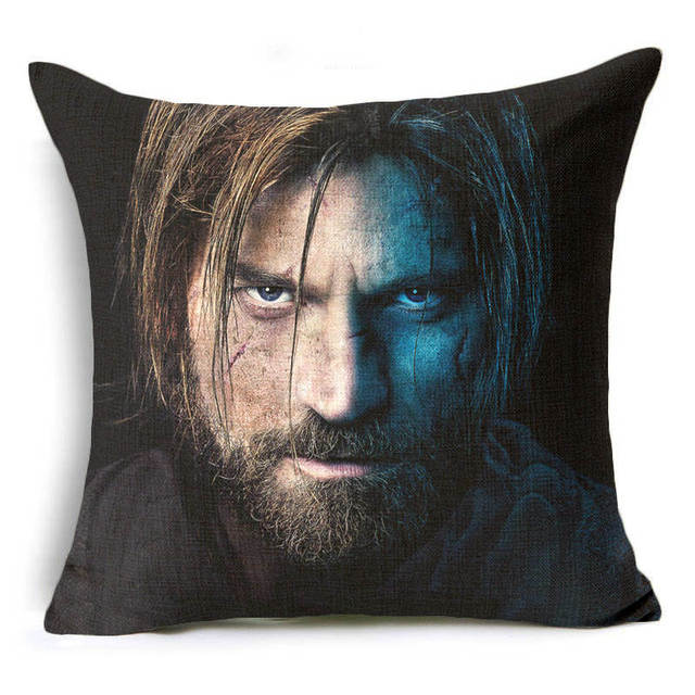 Game of Thrones Linen Sequin Pillow Case