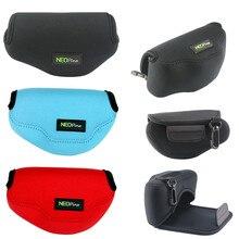 limitX Neoprene Waterproof Inner Camera Bag Soft Case Cover for Olympus OMD EM10 OM D E M10 Mark II III IV 2 3 4 w/ 14 42mm Lens