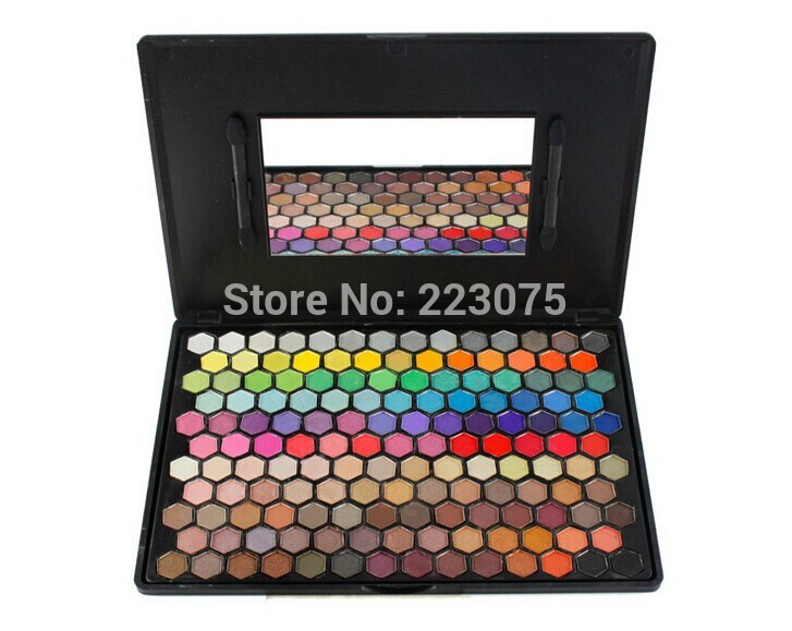 149 Color Makeup Eyeshadow Palette Set Cosmetic Honeycomb Design With Mirror as Xmas gift магнитный браслет colantotte magtitan color palette