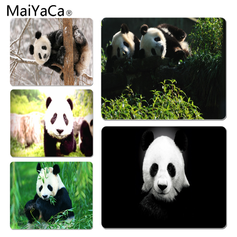 MaiYaCa Panda Large Mouse pad PC Computer mat Size for 18x22x0.2cm Gaming Mousepads
