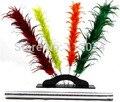Cambio de Color de la pluma, plumero de cambio de color de flores-truco de magia, pluma mágica, objetos, comedia