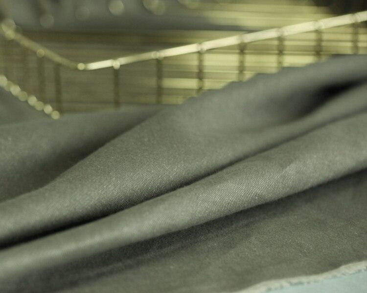 Tessuto tinto tessuto di cotone autunno e inverno vestiti dei vestiti tessuto di cotone panno di lino tessuto di lino naturale all'ingrosso - 6