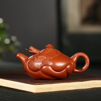 wrinkled skin zhu mud big red fish are recommended change to 240 ml of kung fu tea gift dragon LOGO custom wholesale