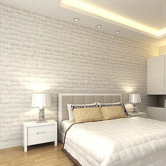 Gran pared 3D decoracin de plumas de decoracin papel pintado a