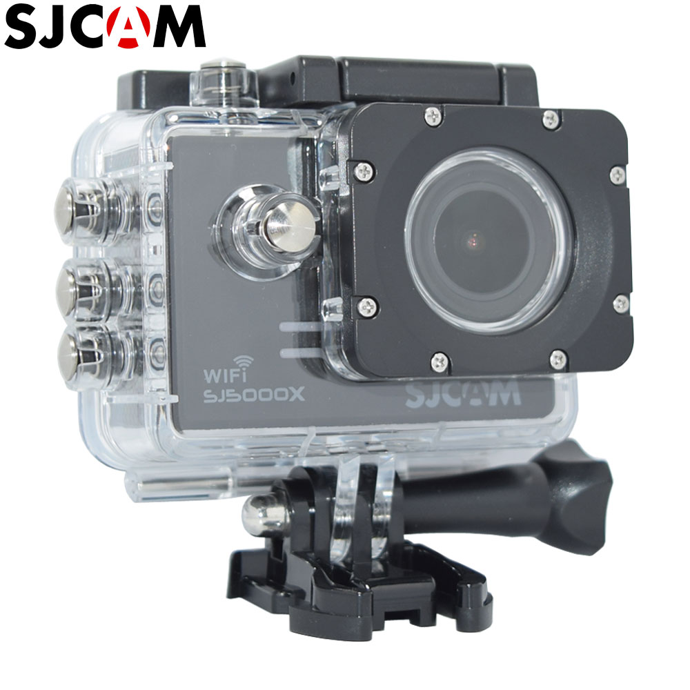 Free Shipping Orignal SJCAM SJ5000X 4K Elite Wifi Gyro Stabilizer Action Camcorder Waterproof Diving Outdoor Sport