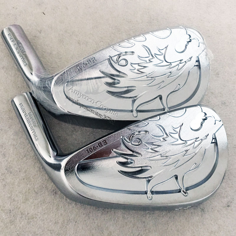 Cooyute New Golf head EMILLID BAHAMA EB-901 Golf Irons 4-9P Silver Forged Irons head Golf Club head No Clubs shaft Free shipping