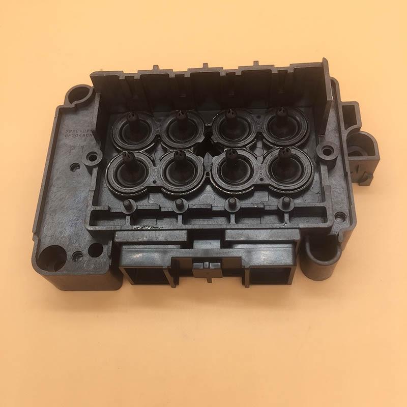 Wit colore Eco solvente testina di stampa DX7 adattatore per F189010 F189000 F196000 F196010 testina di stampa copertura collettore di Xenons dx7 testa di copertura