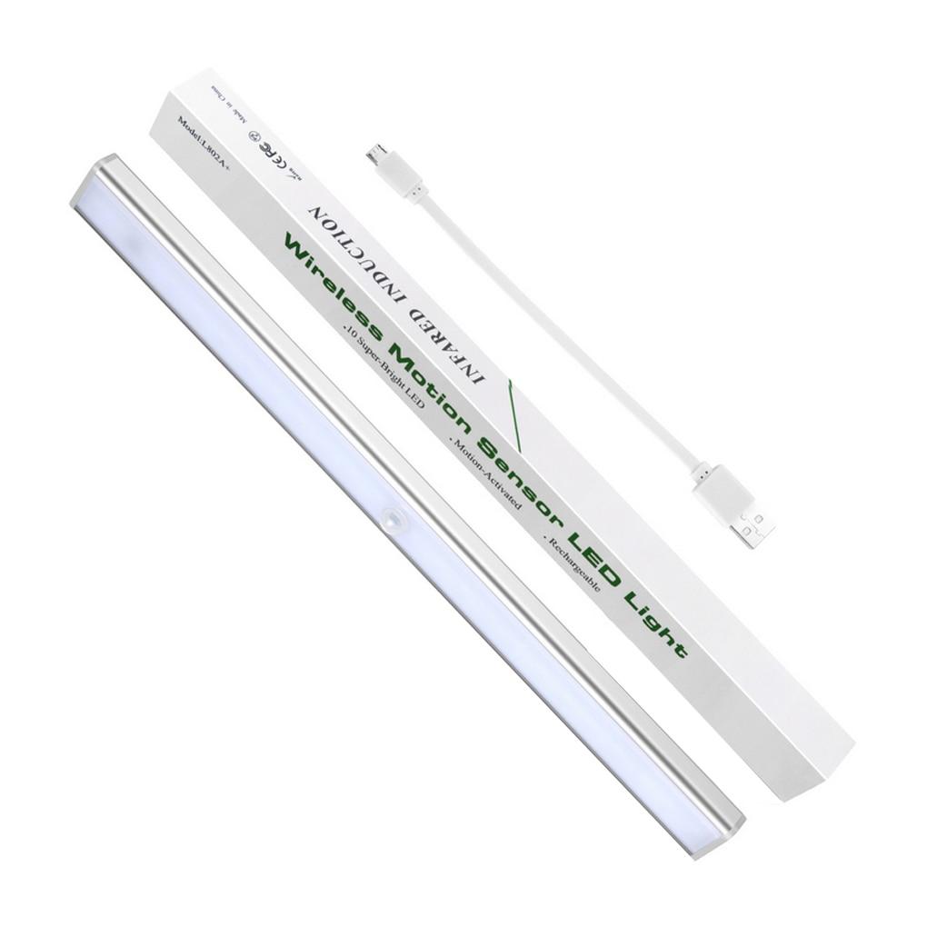 1.2W USB 24 LED Motion Sensor Light Motion Nightlight Portable Security Closet Lamp for Closets Hallway Stairway