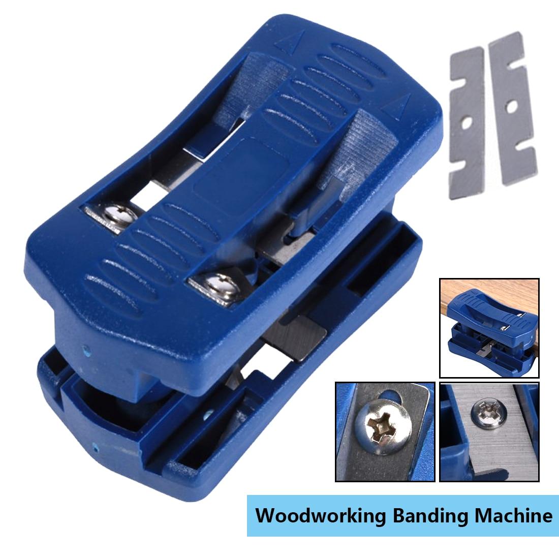 Ручной инструмент для деревообработки 9,5x4,8 пластиковый двойной Кромкооблицовочный станок для обрезки деревянной головки и хвоста