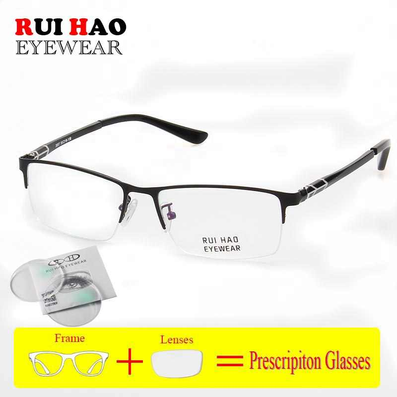 Customize Prescription Glasses Full Myopia Hyperopia Glasses Fashion Optical Eyeglasses Clear Resin Lenses
