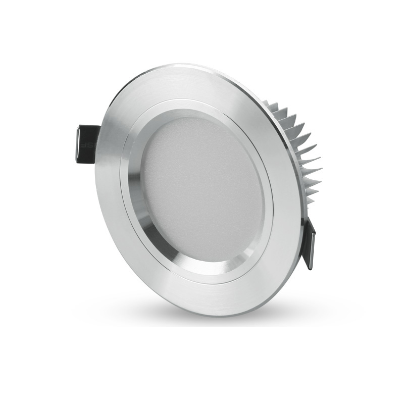 Modern LED Corridor Down lights Ceiling Recessed Downlight Pure/Warm White Cabinet Lamp TV Wall Downlights 85-265V Ceiling Lamp