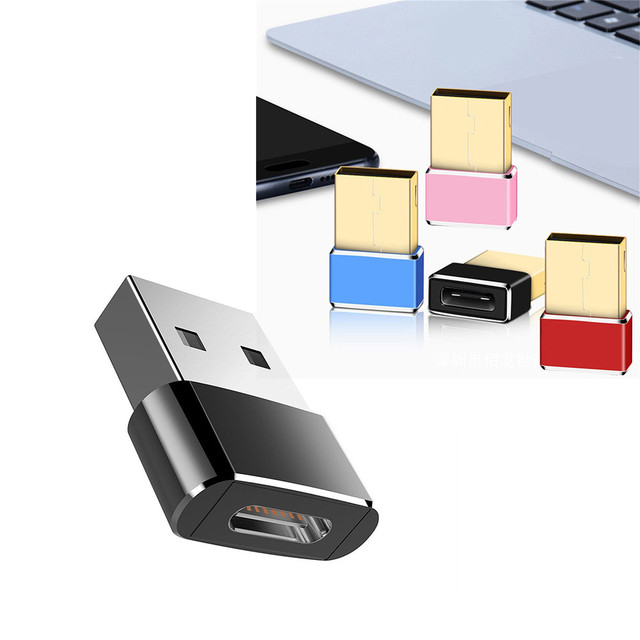 Malloom USB 3.0 (Tipo A) Maschio A USB3.1 (Tipo-C) femminile del Convertitore del Connettore Adattatore Adapter + USB 3.1 Tipo C Maschio A Maschio del USB 3.0