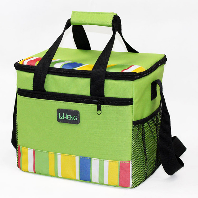 Cooler Bag Thermal Food Insulation Cans Waterproof Picnic Lunch Shoulder Tote Cars Bags Pack