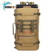 Горячая A + 50L Военная Униформа Тактический Рюкзак Пеший туризм кемпинг сумка для мужчин's mochila feminina