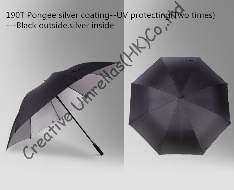 16mm fiberglass shaft golf umbrellas,big sizes for outdoor sport,UV protecting,gift umbrellas,use for business and daily life
