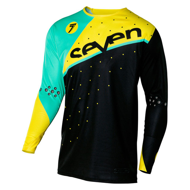 d9e65c0d4 2018 Seven downhill jersey long sleeve motocross camiseta ropa mtb fox  mountain bike dh shirt mx motorcycle answer