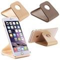 Mesa de madera horquilla del sostenedor del soporte universal para iphone 6 plus se samsung teléfono